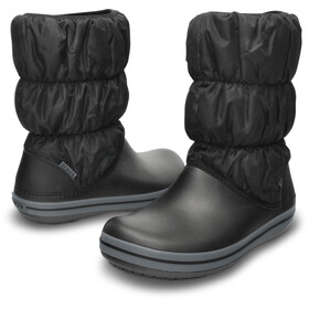 Crocs Winter Puff Stivali Donna, black/charcoal
